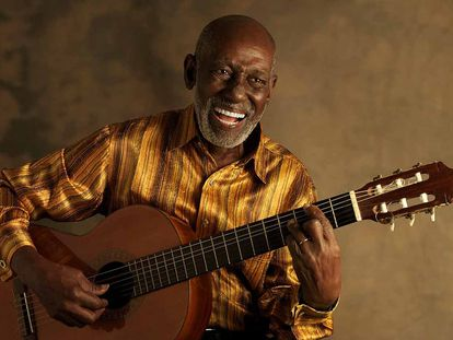 O mestre do Samba, Nelson Sargento.