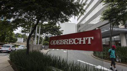 A sede da empreiteira Odebrecht em São Paulo