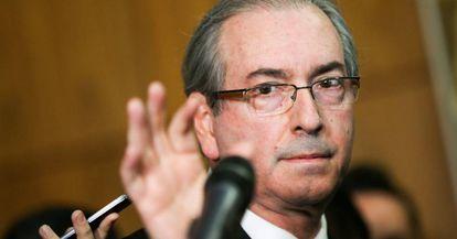O deputado afastado Eduardo Cunha.