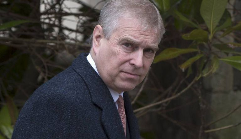 O príncipe Andrew da Inglaterra.