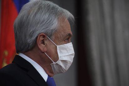 O presidente do Chile, Sebastián Piñera, em 9 de junho.
