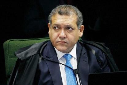 Ministro Nunes Marques em sessão da 2ª turma em novembro de 2020.