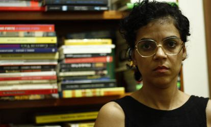 A antropóloga Caroline Leal.