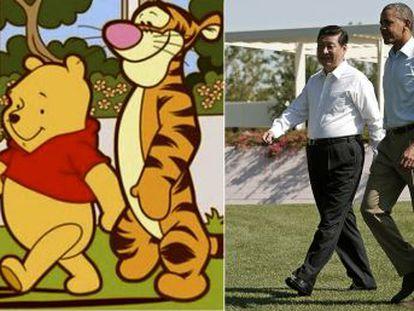Internautas e dissidentes usam o personagem da Disney para mostrar seu descontentamento com o presidente