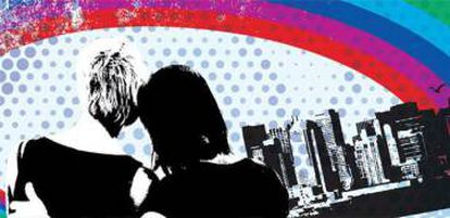Imagem ilustrativa do caderno Escola Sem Homofobia.