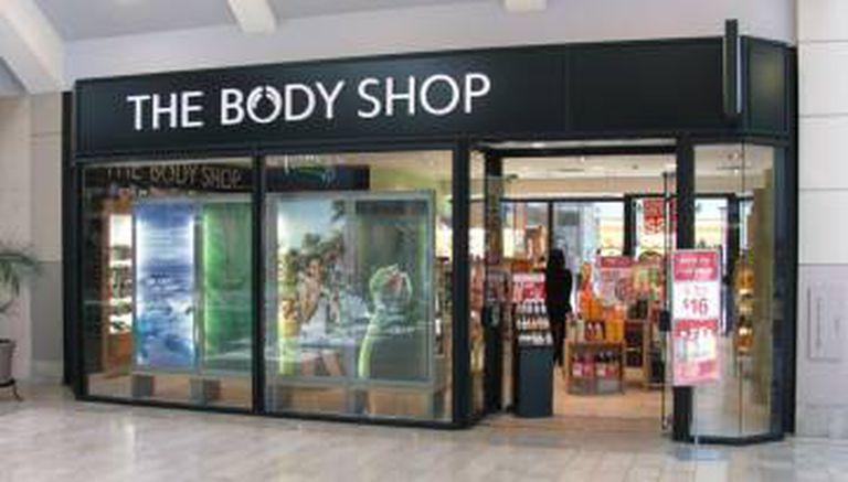 Loja da The Body Shop.