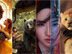 Algunos de los 'remakes' de Disney.