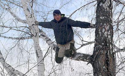 Alexéi Dudoladov, estudante de Stankevichi (Sibéria, Rússia), em uma fotografia cedida por ele.