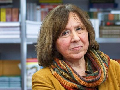 Svetlana Alexievich, em uma imagem de 2014