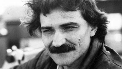 Belchior durante entrevista em São Paulo, em 1986.