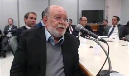Leo Pinheiro durante seu depoimento.