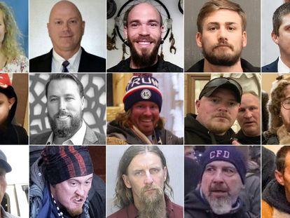 Os 'patriotas' que invadiram o Congresso dos Estados Unidos