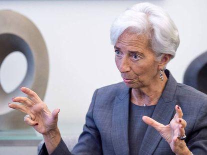 A diretora-gerente do FMI, Christine Lagarde.