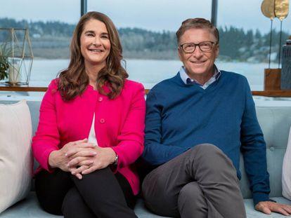 Melinda e Bill Gates, em uma imagem de arquivo.