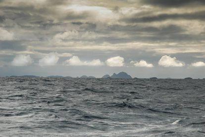 Os predios do tiburón boreal em 'O livro do mar'.