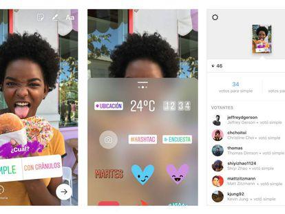 Instagram Stories agora terá enquetes.