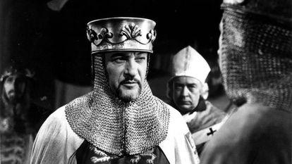 George Sanders em 'Ricardo, Coração de Leão' (1954).