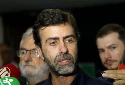 O deputado federal Marcelo Freixo (PSOL), relator da CPI das Milícias na ALERJ.