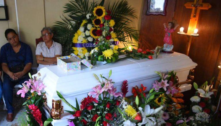 Funeral de Génesis Deyanira Urrutia.