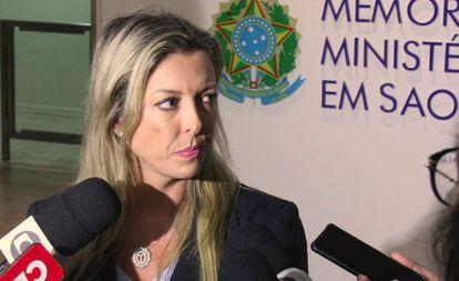 A procuradora Thameá Danelon Valiengo, da força-tarefa.