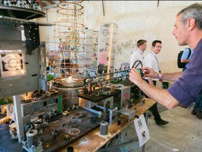 Feira para inovação tecnológica da Israel, Start Tel Aviv.