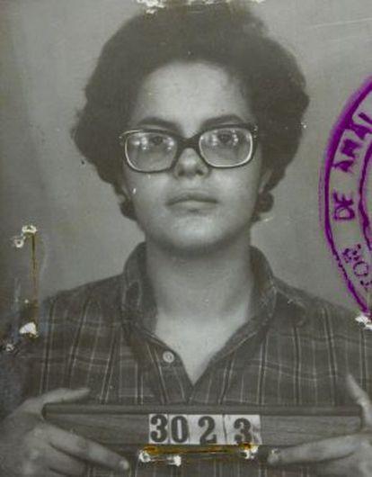 Retrato policial da presidenta..