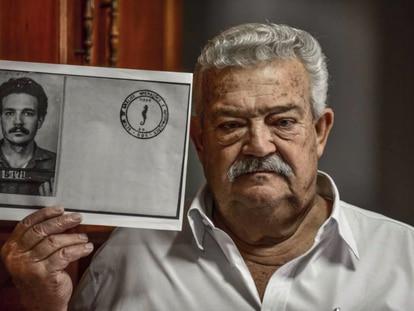 Lúcio Bellentani, que foi preso pela ditadura enquanto trabalhava na Volks, durante entrevista em 2017.