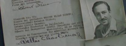 A permissão de viagem a América Latina de Disney.