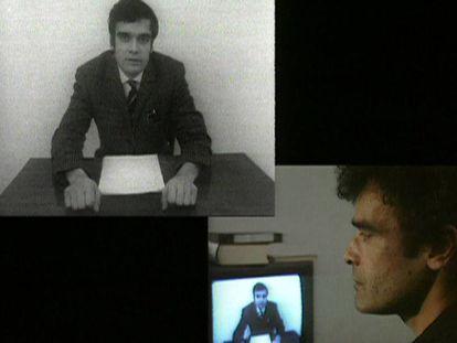 'Interface' (1995), videoinstalação de Harun Farocki.