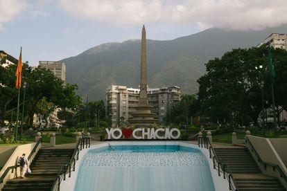 Vista da Praça Francia, em Caracas.
