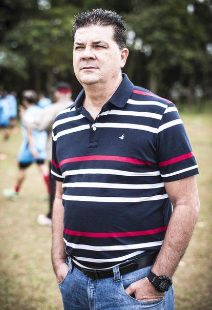 Roderlei foi o primeiro treinador de Diego Costa no profissional.