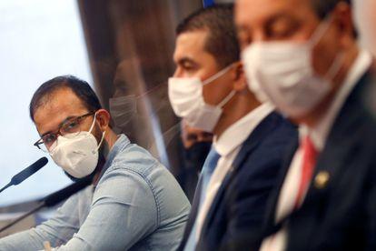 Os irmãos Miranda na CPI da Pandemia