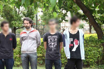 Willian Pina Botelho entre os detidos em 4 de setembro do ano passado.