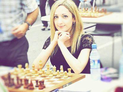 Nazista Paikidze-Barnes, em uma foto publicada em sua conta de Instagram.