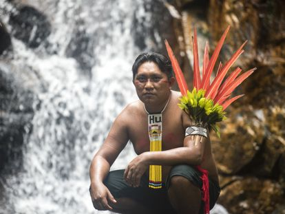 Dário Kopenawa, liderança do povo Yanomami.