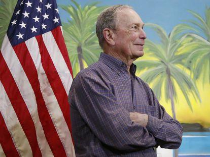 Michael Bloomberg, em 3 de março, em Miami.
