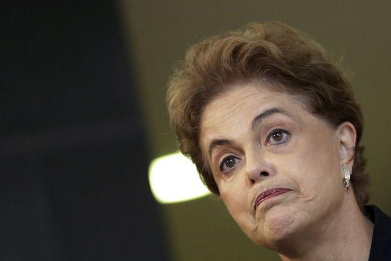 Dilma durante entrevista nesta sexta, em Brasília.