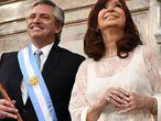 Alberto Fernández e Cristina Kirchner.
