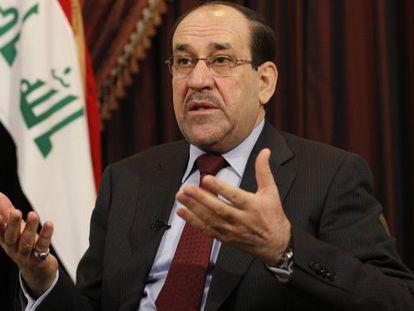 O primeiro-ministro iraquiano, Nouri al Maliki, em uma foto de arquivo.