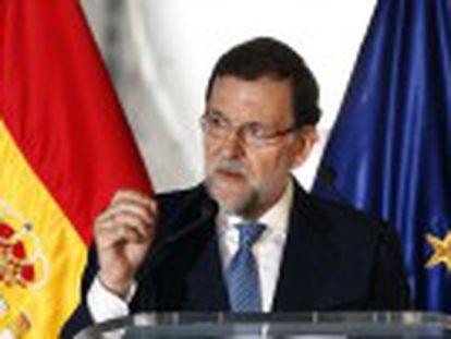 """Mariano Rajoy, criticado por falar pouco sobre a Catalunha, diz que o limite é """"a unidade da Espanha e a soberania nacional"""""""