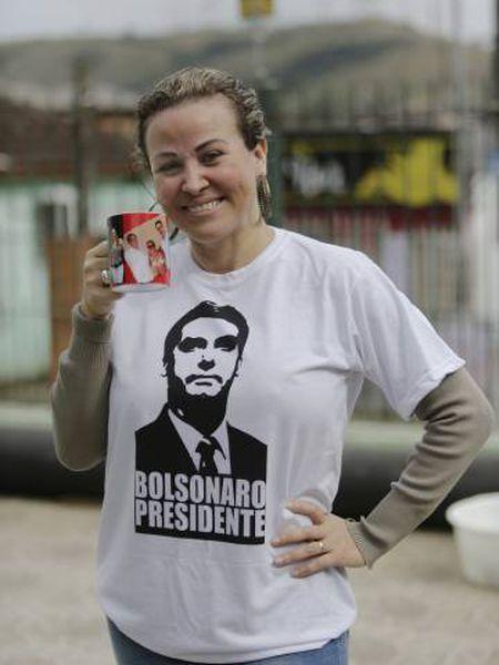 Cátia Cunha, fã de Bolsonaro.