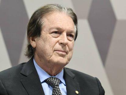 O presidente do PSL, Luciano Bivar, em uma foto de agosto deste ano.