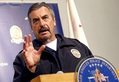 O chefe de policial de Los Angeles, Charlie Beck.