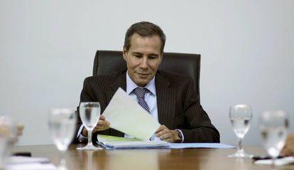O ex-promotor argentino do caso AMIA Alberto Nisman.