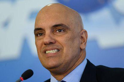 O ministro da Justiça, Alexandre de Moraes.