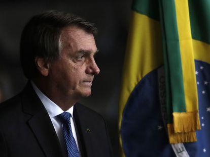 Jair Bolsonaro no dia 19, em Brasília.