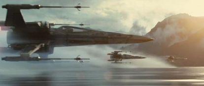 Um momento do 'teaser' de 'Star Wars: O Despertar da Força'.