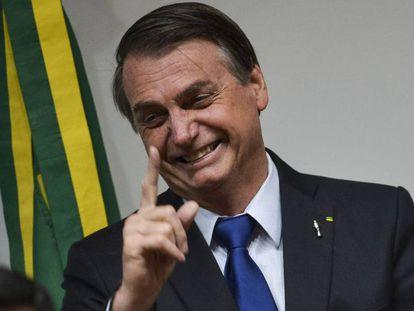 Presidente do Brasil, Jair Bolsonaro.