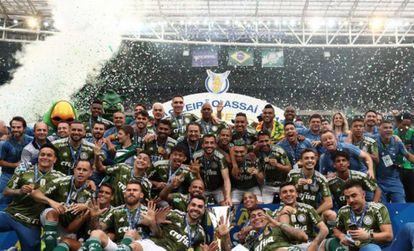 Palmeiras ficou com a taça em 2018.