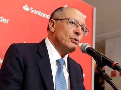 Geraldo Alckmin, em 18 de abril.
